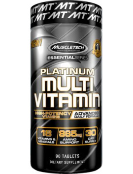 MUSCLETECH PLATINUM MULTIVITAMIN 90 TABLETS
