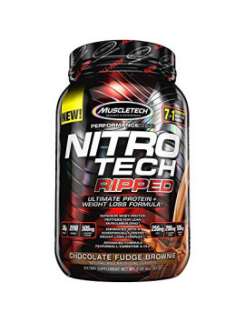 MUSCLETECH NITRO TECH RIPPED CHOCOLAT 907G