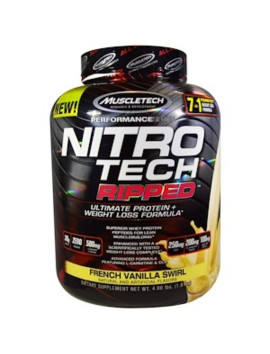 MUSCLETECH NITRO TECH RIPPED VANILLE 1.81 KG